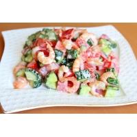 как приготовить салат огурец с помидорой