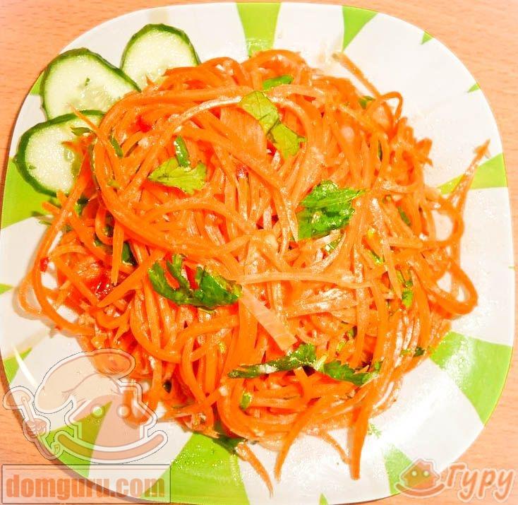 как приготовить корейскии салат