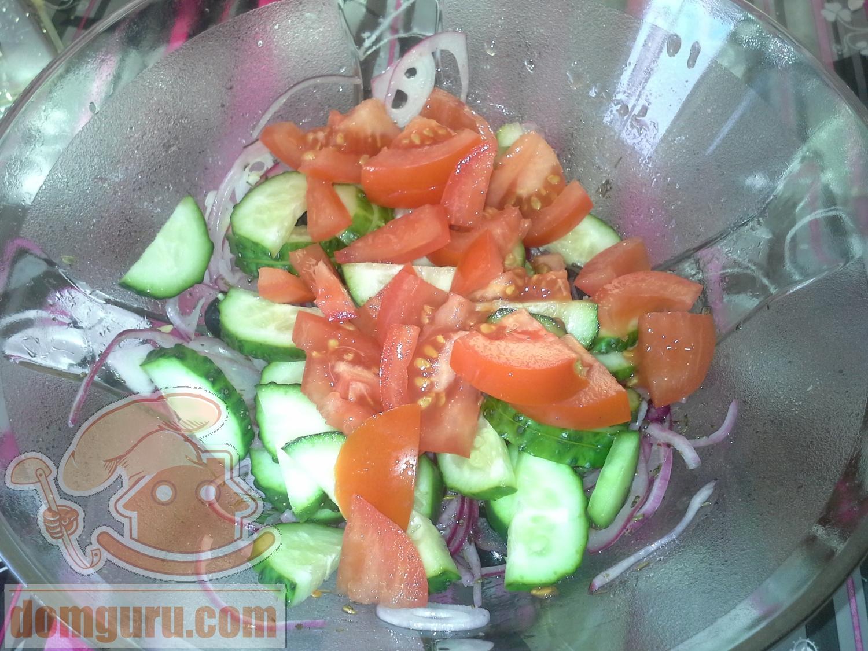 мастер класс украшение салатов фото