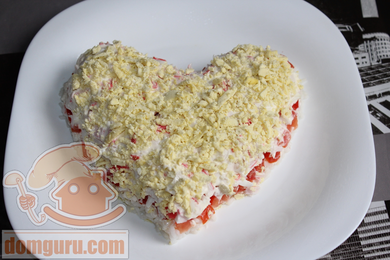 Торт из крабовых палочек рецепт