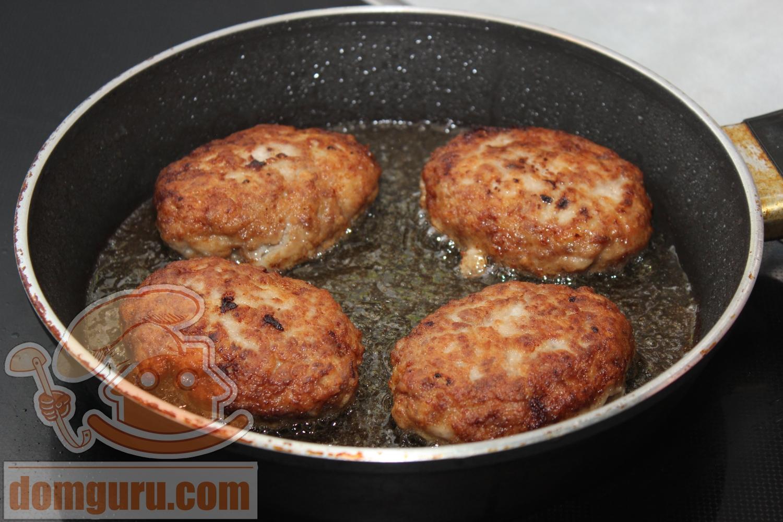 Котлеты из свиного фарша - пошаговый рецепт Вкусные Рецепты 57