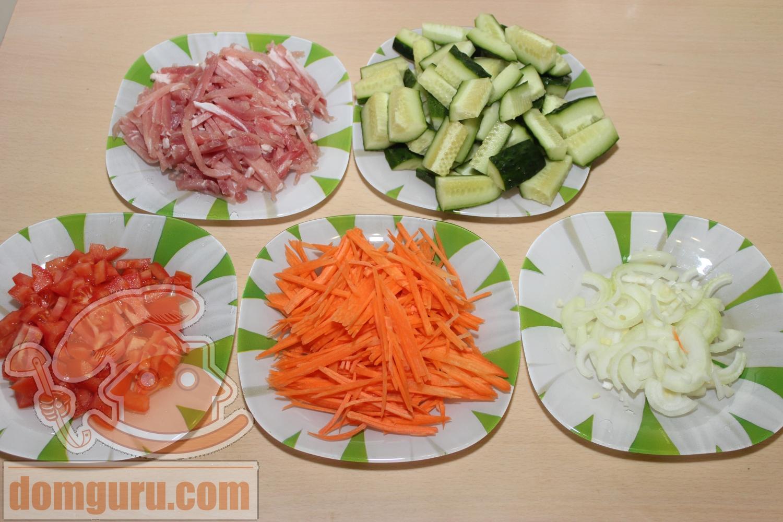 Огурцы с мясом по-корейски рецепт с фото пошагово - nu 39
