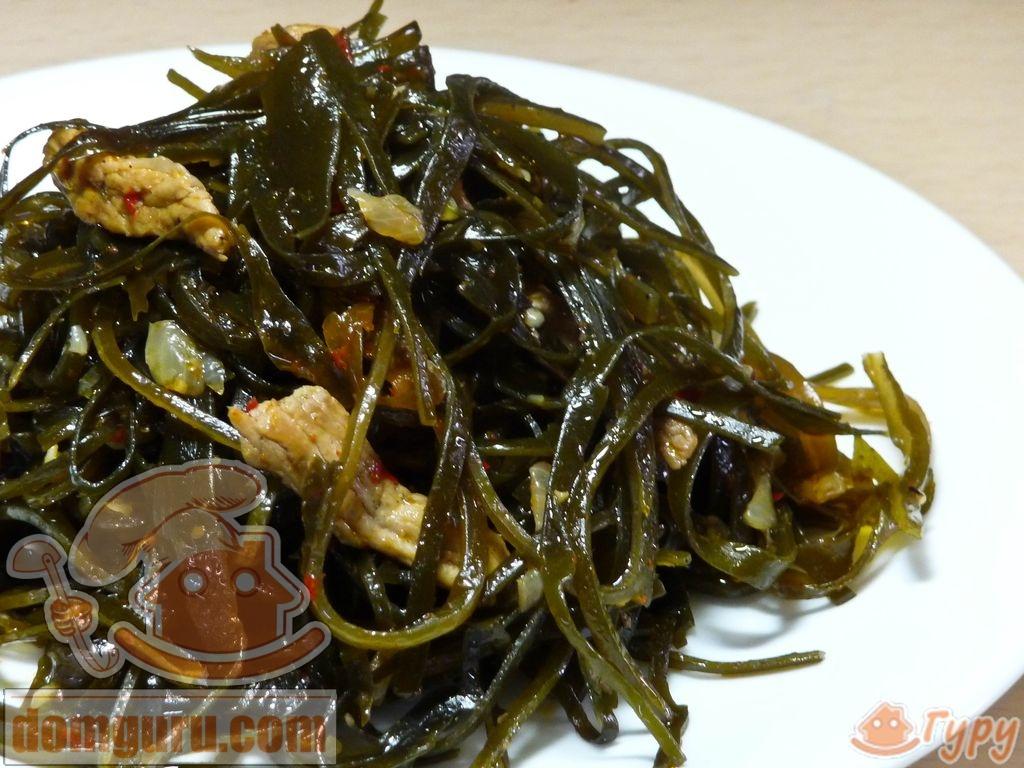 Салат из морской капусты по-корейски