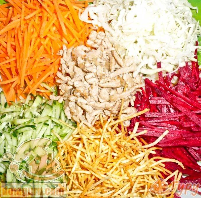 французский салат из свеклы