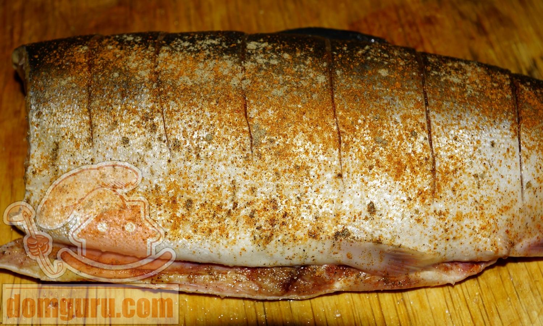 Горбуша в духовке со сметаной пошаговый рецепт