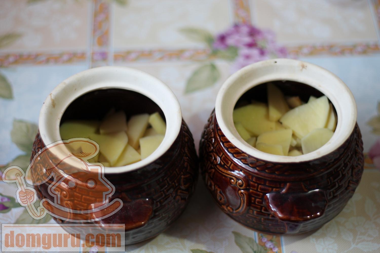 картошка кружочками с фаршем в духовке рецепт