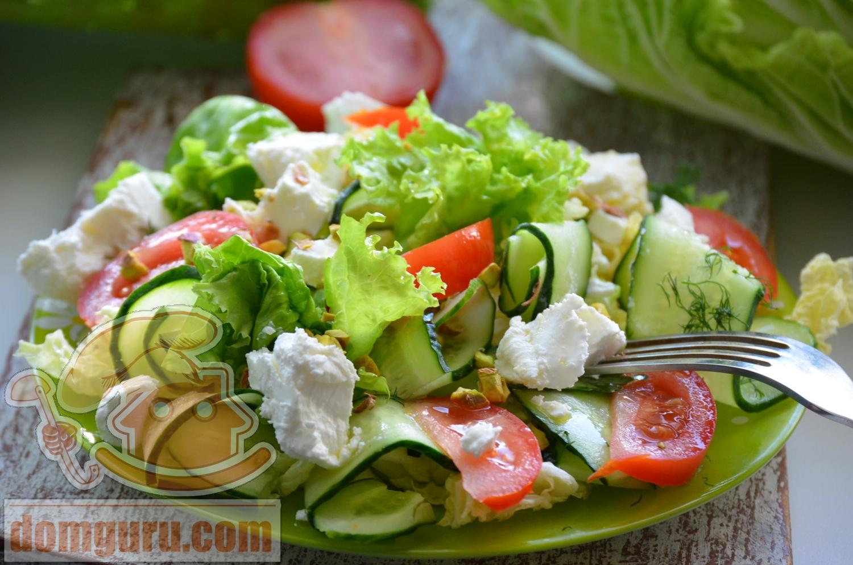 Салат греческий. Пошаговый рецепт приготовления классического