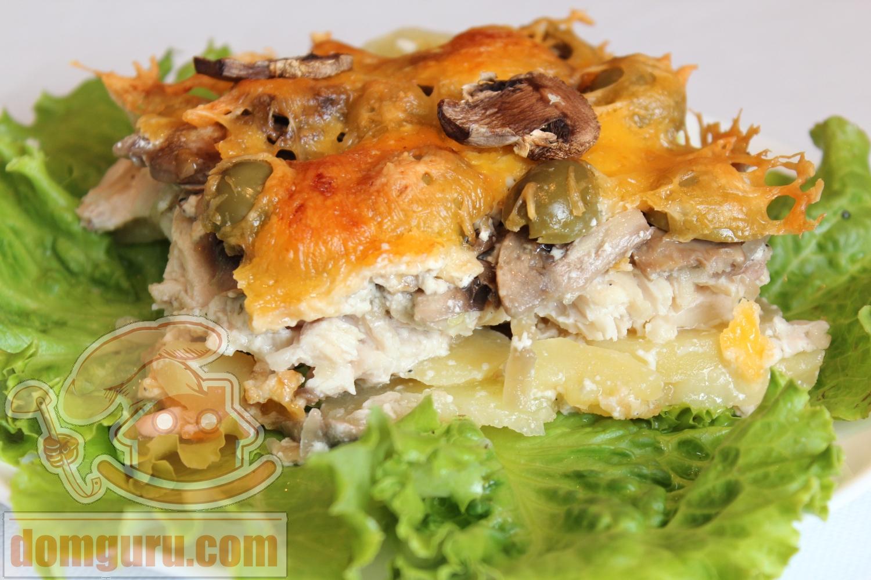 Как приготовить картофельную запеканку с курицей в духовке