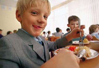 Школьники Владивостока получают бесплатные горячие обеды.  Общество.