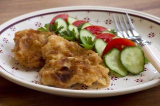Картофельное блюдо с грибами