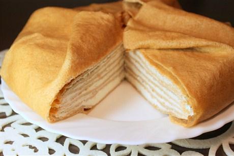 Как сделать торт из яиц и муки 134
